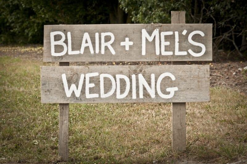 Mel and Blair